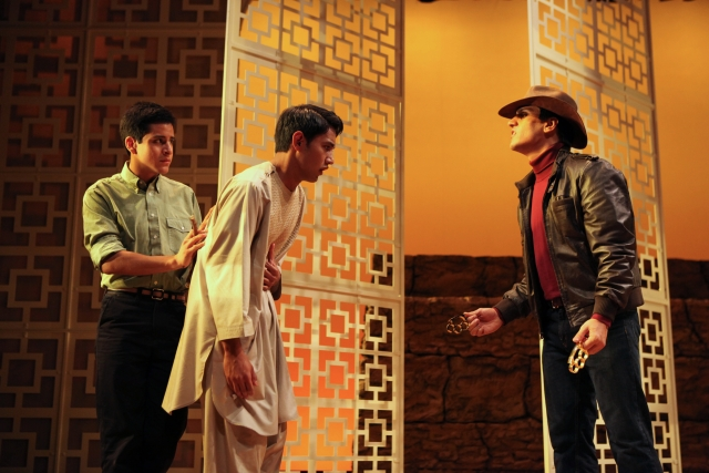 news cast of the kite runner at cleveland play house   only · the kite runner