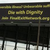 WKSU News: Cleveland billboard promotes 'death with dignity'
