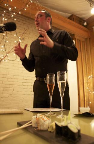 Wksu News Sushi Classes With Wine