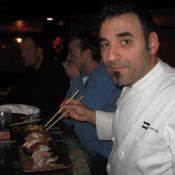 Chef Dante's friends say he opened Gingko just so he could eat sushi every day.