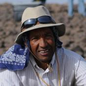 Yohannes Haile-Selassie led the team that discovered the foot bones in the Afar region of Ethiopia 30 miles from where Lucy's remains were found in 1974.  Both animals lived 3.4 million years ago.