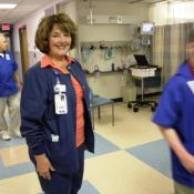 Phyllis Mesko has worked in the recovery room at Akron Children's Hospital for neary 42 years.