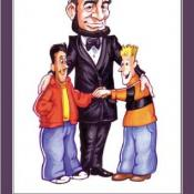 A poster from Bullies 2 Buddies, which stresses the golden rule to fight bullying.