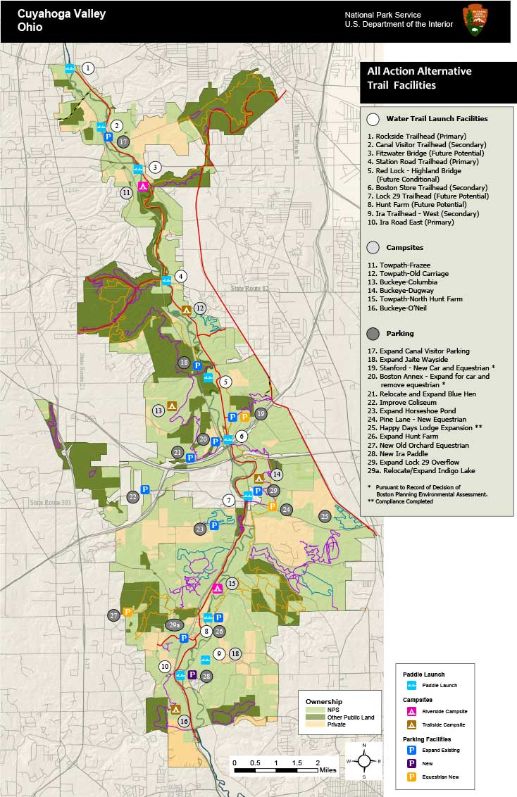 WKSU News: Cuyahoga Valley National Park map out future trails