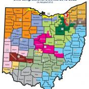 Here's Ohio's new congressional map, drawn by state GOP lawmakers