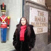 Author Gail Bellamy says many of her interviewees voted Halle's, with it's toy soldiers, as having the most memorable Christmas window displays