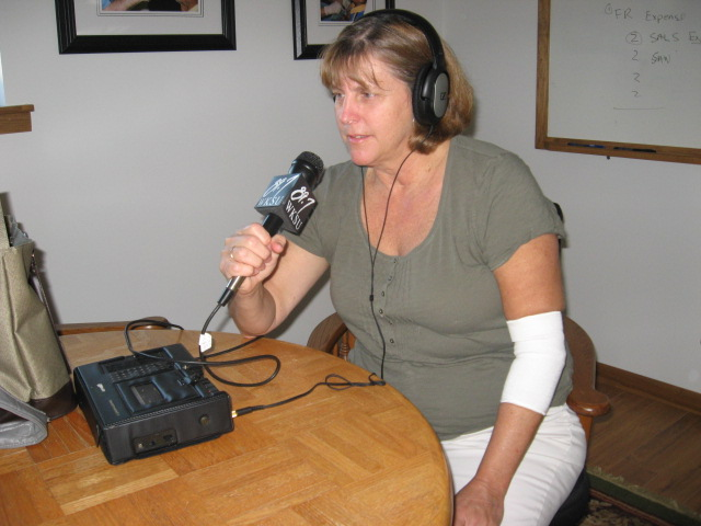 Nurse Kathy Tschiegg recorded an audio diary on a recent trip to Honduras.