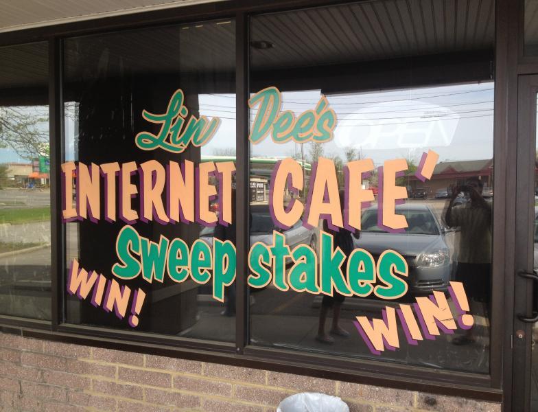 WKSU News: Inside an internet cafe