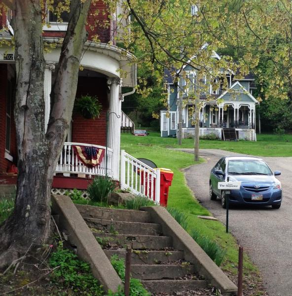 Sometimes larger homes have rooms for rent, but there is not a lot of temporary housing in the area of Utica Shale play