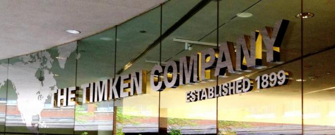 World HQ of the Timken COmpnay in Canton, OH