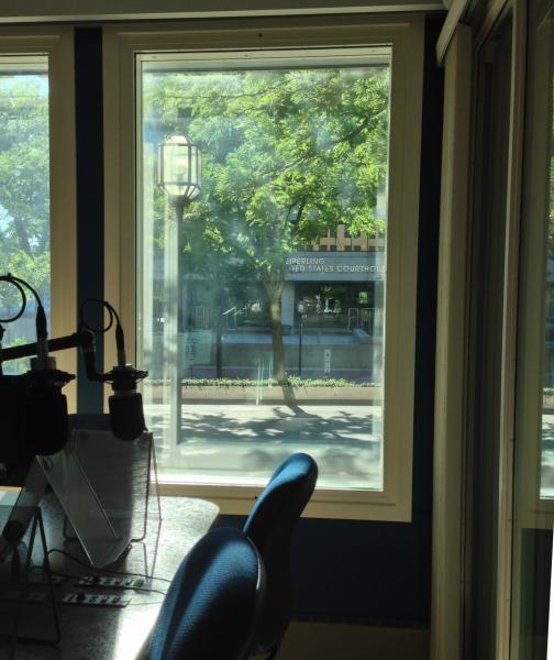 Seiberling Federal Building from WKSU Akron newsroom