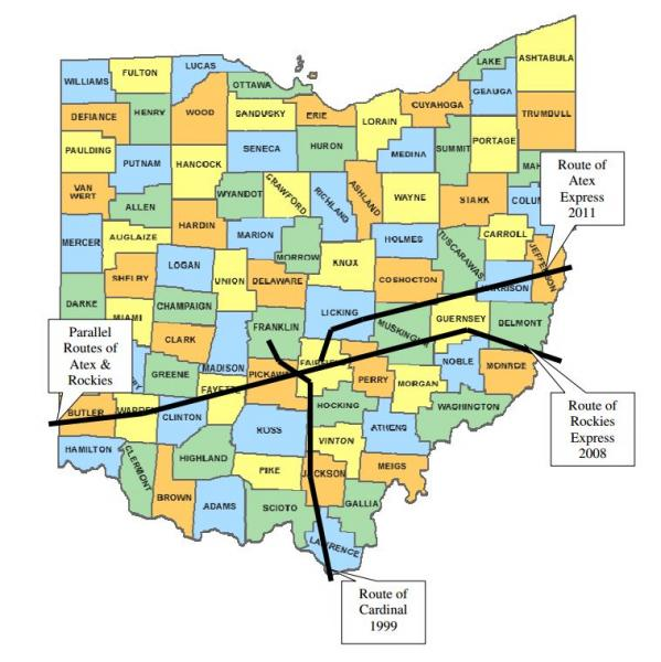 Map Of US Natural Gas Pipeline Compressor Stations Maps Havre - A map with all pipelines in the us