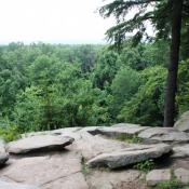 The ledges overlook is one of the best vistas at Cuyahoga Valley National Park. A new trail plan under outgoing superintendent Stan Austin will add 37 miles of hiking and 10 miles of biking trails, camping sites, and river access.