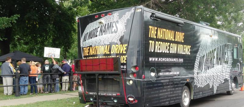 No More Names Tour Bus