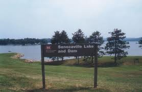 Seneca Lake in eastern Ohio