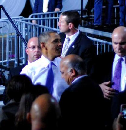 WKSU News: President Obama calls a Cleveland steel mill a
