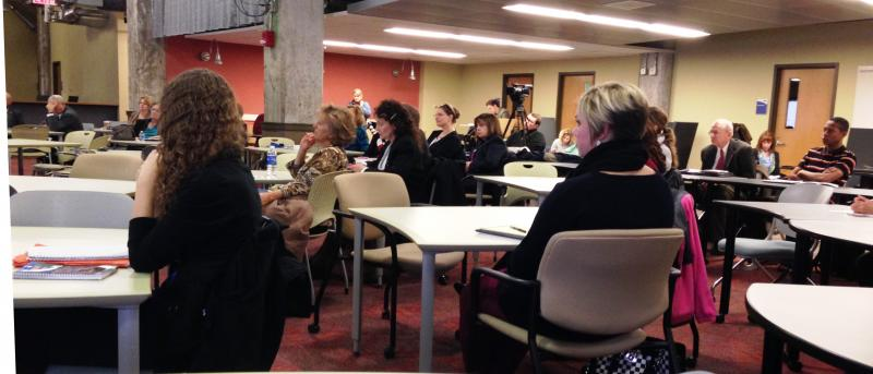 U of Akron faculty and students gather for panel discussion