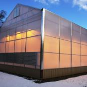 New state-of-the-art greenhouses serve as laboratories for Smithers-Oasis researchers in Kent. The company is testing new materials and formulations for the burgeoning world-wide hydroponic market.