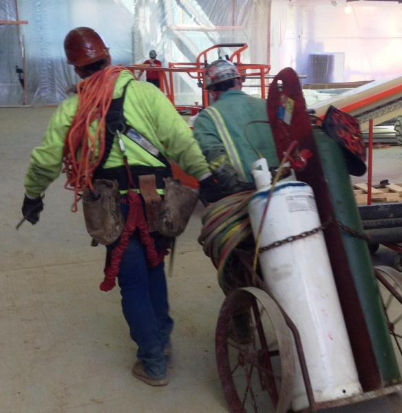 workers at NEOMED