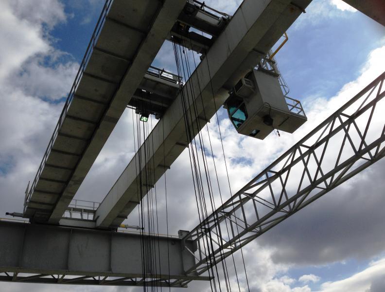 60 ton overhead crane