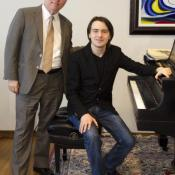 Trifonov is still a student at CIM although he spends a lot of time touring the world giving recitals and as a soloist for some of the world's great orchestras.