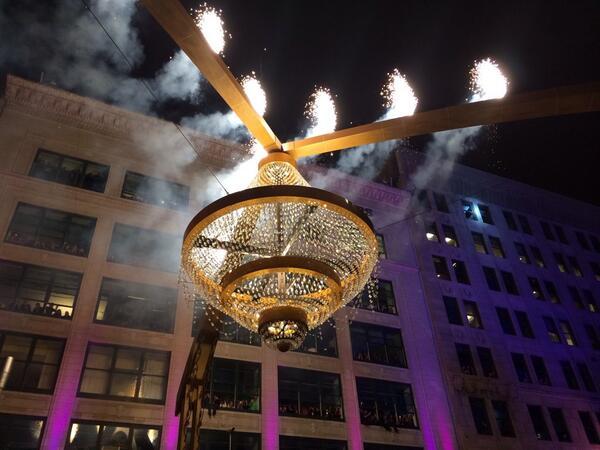 WKSU News: Playhouse Square lights up