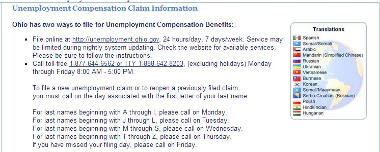 WKSU News: Ohio unemployment claimants hit a snag: What's an