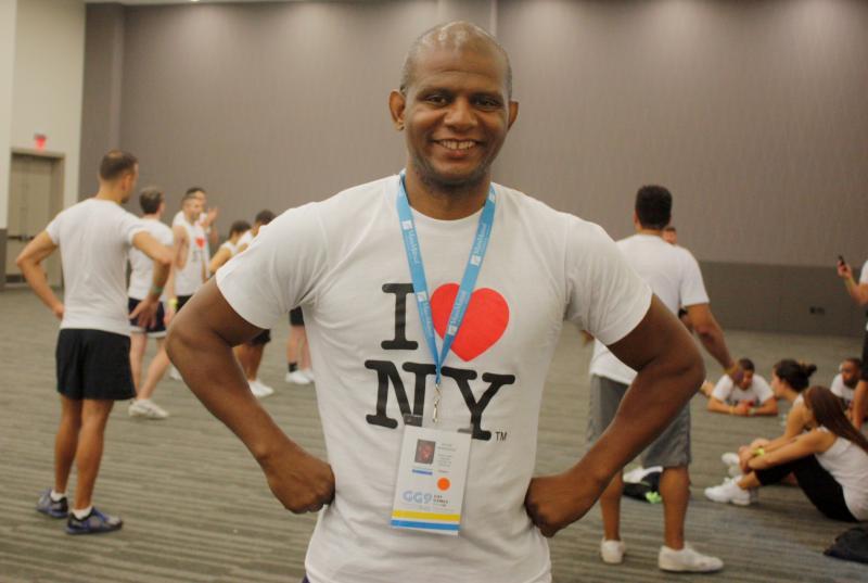 Felipe Hernandez co-founded Cheer New York