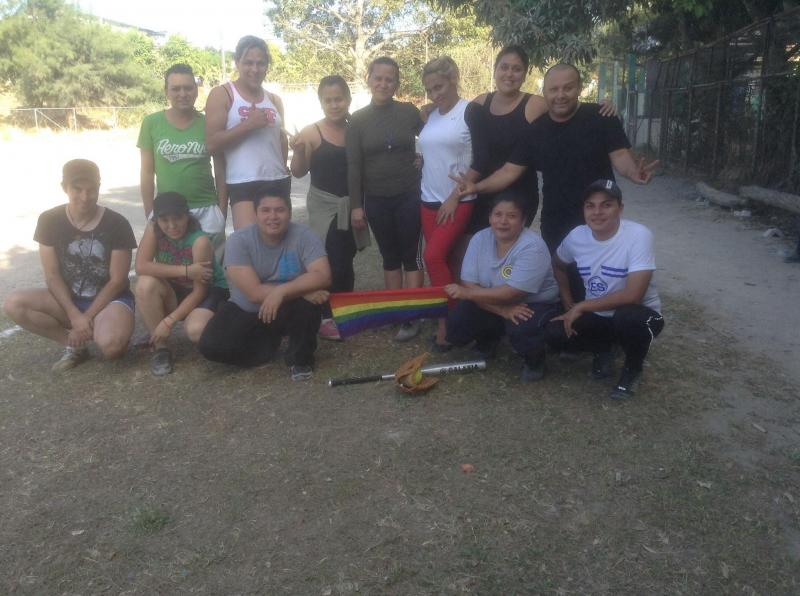 The LGBT softball team from El Salvador got to the Gay Games through help of the Inter-Religious Task Force