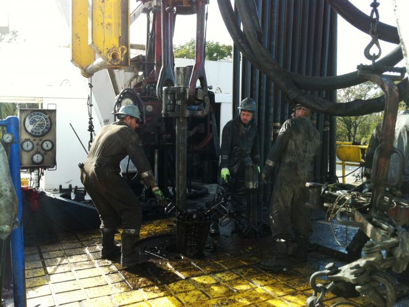 Drillers in Carroll County