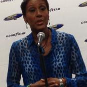 Robin Roberts says aviation and Akron run in her family's blood.