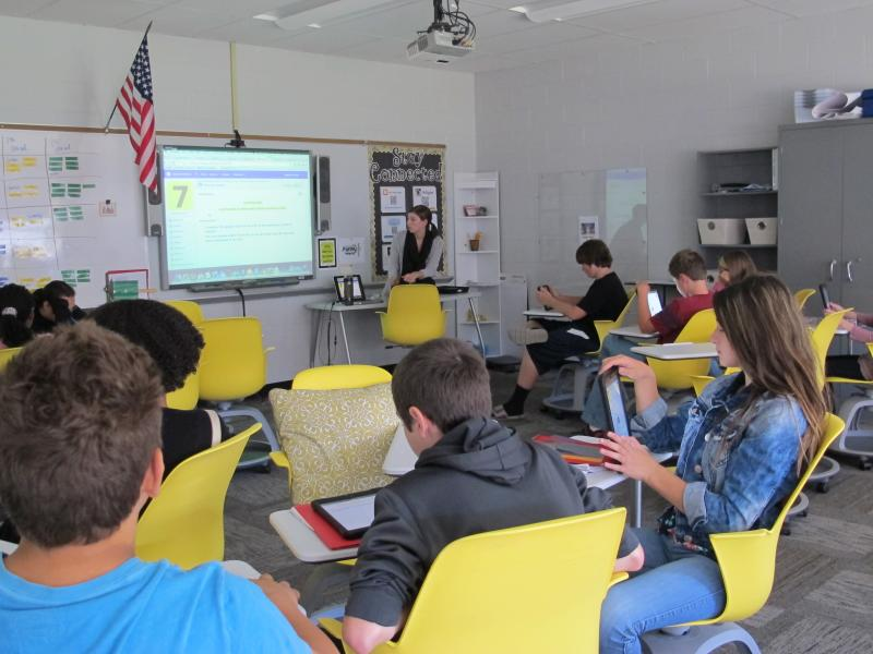 WKSU News: An Ohio middle school implements