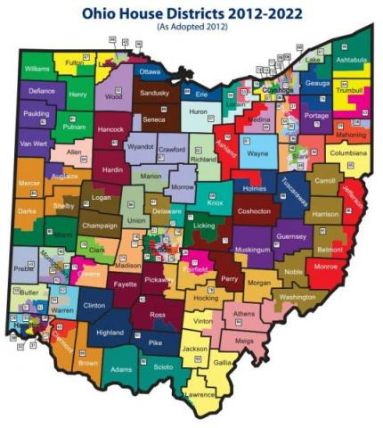 Wksu News Two Bills On Redistricting Are In Ohio S Senate