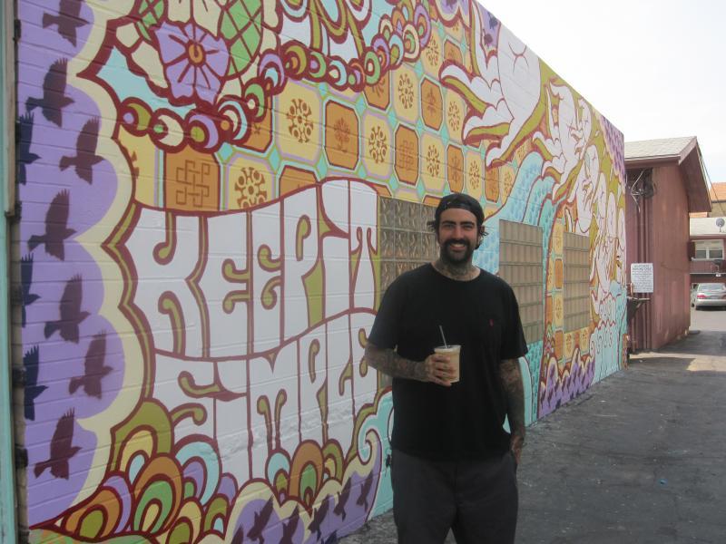 Highland Square Akron >> WKSU News: Akron's Highland Square celebrates community spirit and public art