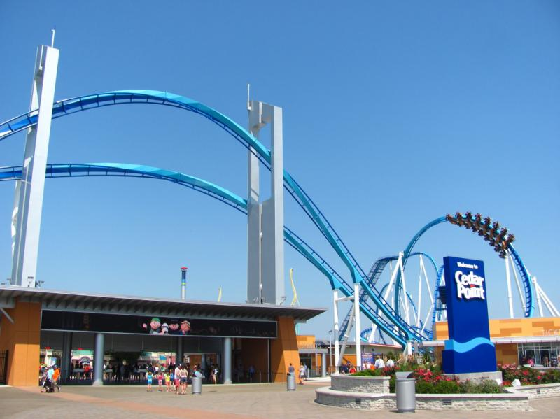 Wksu news cedar point 39 s parent company reports a second for Cedar credit