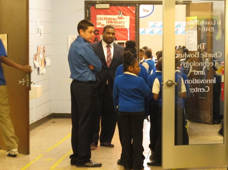 Students at E Prep and Village Prep Academy in Cleveland.