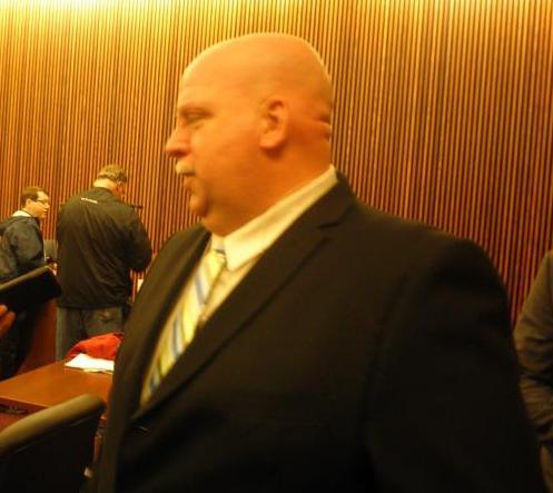 Police union head Steve Loomis