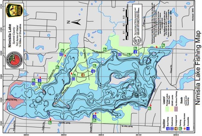Wksu news nimisila reservoir added to the summit for Ohio dnr fishing
