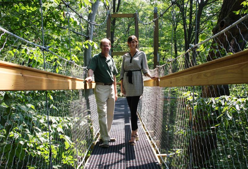 Download (WKSU Only) & WKSU News: Holden Arboretum opens a new canopy walk and emergent tower