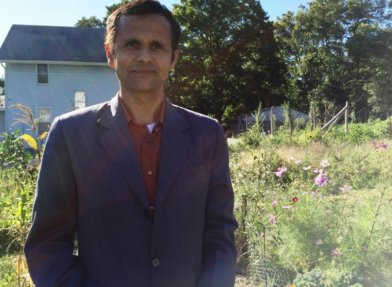 North Hill resident Mahananda Luitel